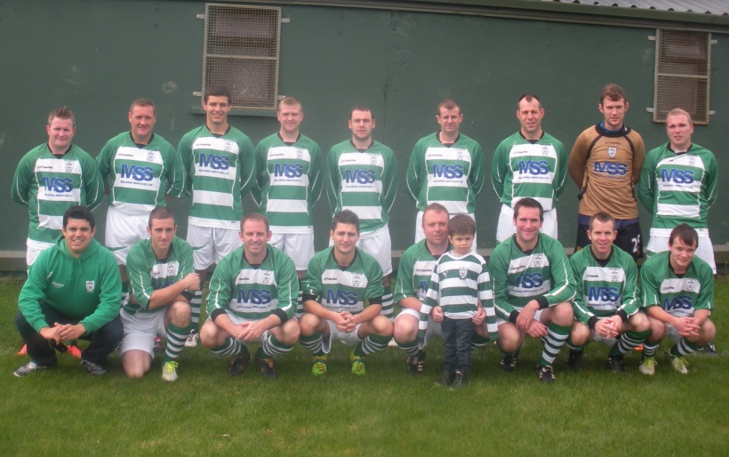 Enniscorthy Town B Team Photo Skinner Memorial Jerseys