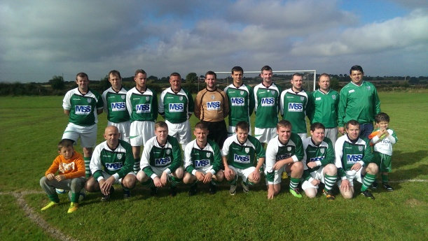 B Team 2014/2015 taken on 21/09/2014 Away to the Ballagh